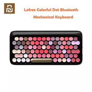 Image 1 - Youpin Lofree 무선 블루투스 기계식 키보드 블룸 버전 LED 백라이트가있는 매력적인 다채로운 립스틱 게임용 키보드