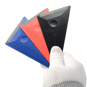 Image 5 - FOSHIO 3PCS/Set Vinyl Film Wrapping Squeegee Soft Edge Auto Wrap Window Tint Carbon Fiber Sticker Install Scraper Kit Car Goods
