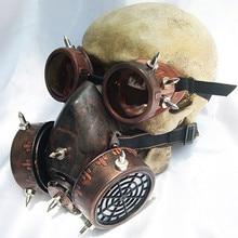 Steampunk óculos máscaras de gás cosplay adereços gothic anti fog haze máscara de homem e mulher