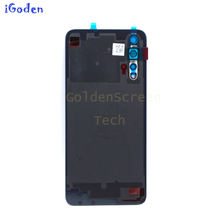 Back Glass Cover For Huawei Honor 20 Battery Cover Back Panel Honor 20 Rear Glass Door Housing Case With Adhesive