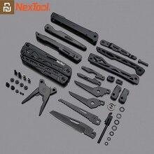 Youpin NEXTOOL 10 In 1 Tools 다기능 도구 블레이드 폴딩 플라이어 캠핑 하이킹 사이클링 휴대용 가위 오프너