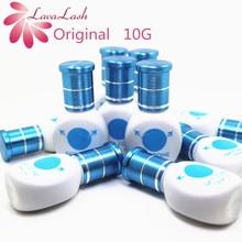 Colle dorigine coréenne pour faux cils, 10 bouteilles/lot, livraison gratuite, colle pour faux cils à faible irritation, sans fumée, pour Extensions