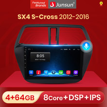 Junsun V1 pro 2G + 32G Android 10 dla Suzuki SX4 S Cross 2012 - 2016 Radio samochodowe multimedialny odtwarzacz wideo nawigacja GPS 2 din dvd