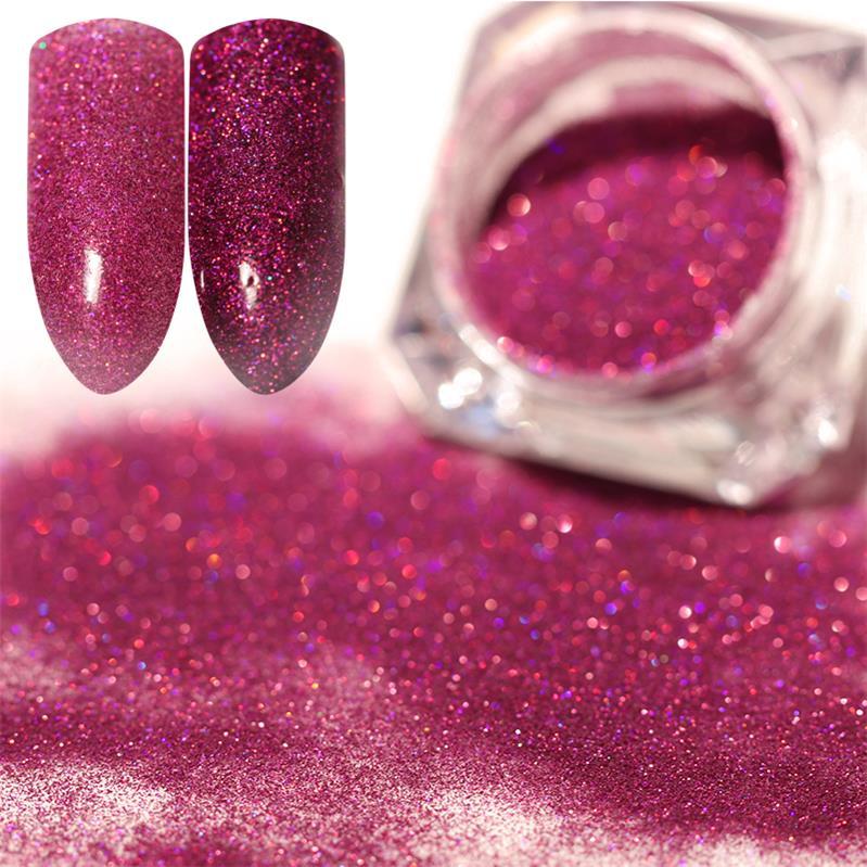 1 коробка жемчужный блеск для ногтей порошок зеркальный матовый эффект блеск Лазерная пыль Маникюр мерцающий пигмент украшение для ногтей - Цвет: 9