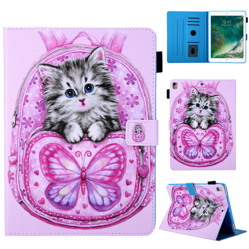 New Magnetic-Stand Tablet iPad Smart-Cover Case PU Funda 10.2 7th-Generation for