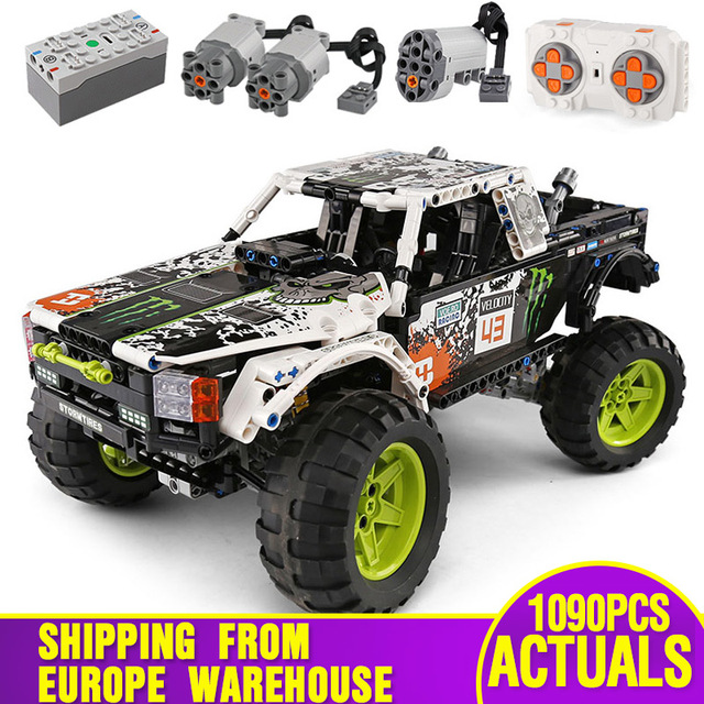 MOC 3320 Technic Car Compatible With 42099 Energy Recoil Baja Truck Building Blocks Assembly Bricks Toys Kids Christmas Gift
