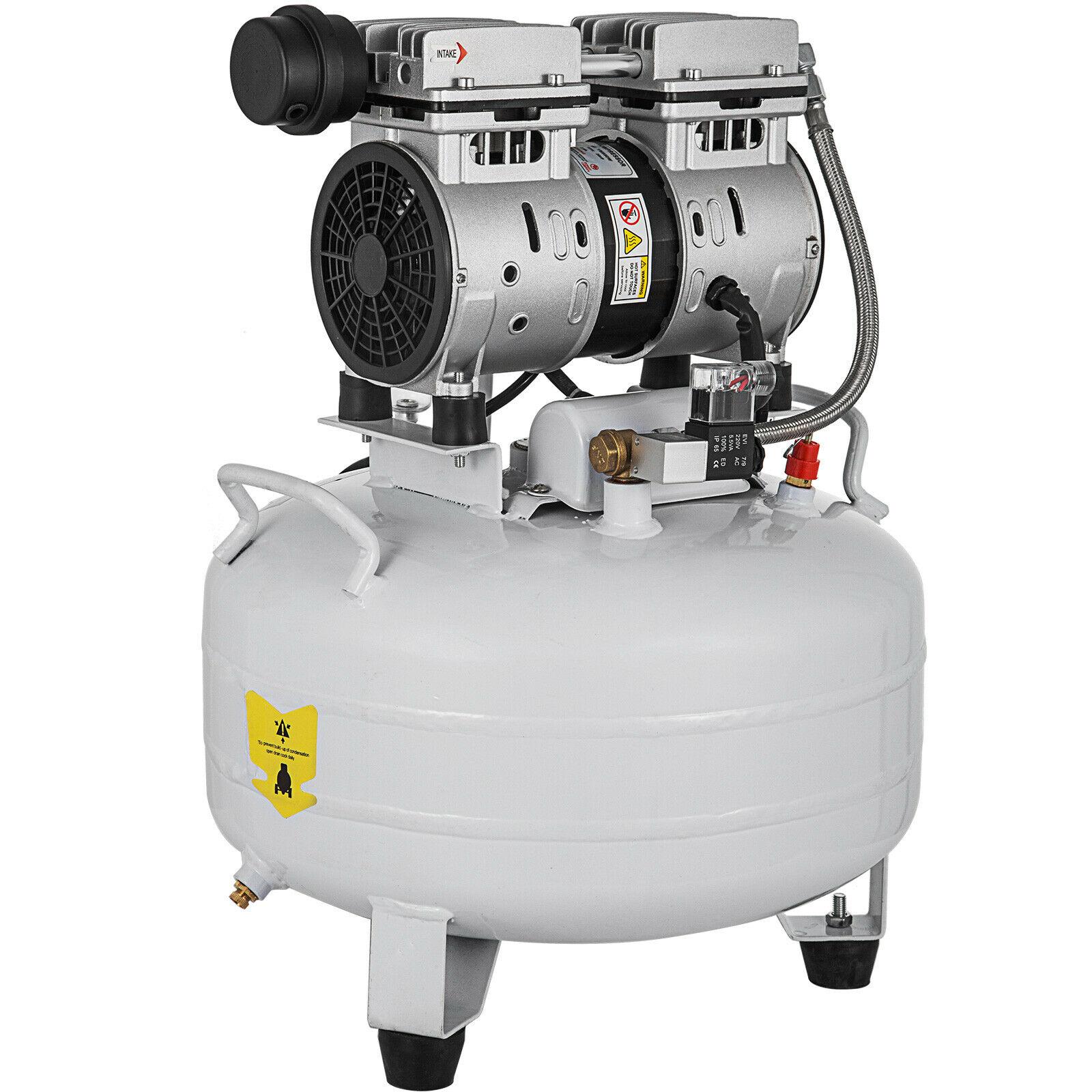 Ультратихий воздушный компрессор, 5,5 галлона, 25 литров, бесшумный воздушный компрессор 550 Вт