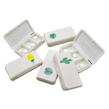 Boxes Case Dispenser Organizer Pill-Box Medicine-Holder Storage-Container Pill-Splitter