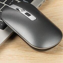 2.4GHz bezprzewodowa mysz optyczna mysz do gier z USB 1600DPI akumulator wyciszenie myszy na PC