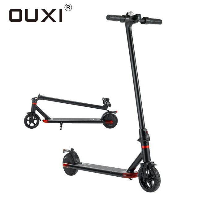 Electric Scooters Cycling Sports Entertainment Electric Scooter Scooters for Adults 6.5 Inch 24V 250W OUXI L1 1