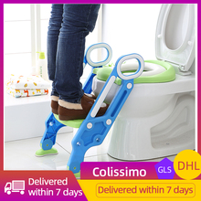 Folding Baby Boy Children's Pot Portable For Boys Folding Chair Stool Staircase Toilet Ladder 2 Colors Baby Potty Training HWC