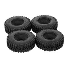 4 pièces AX8020 1.9 pouces RC pneu de roue de voiture pour 1/10 Traxxas TF2 Redcat Rc4wd Tamiya scx10 D90 Hpi pièces de chenille