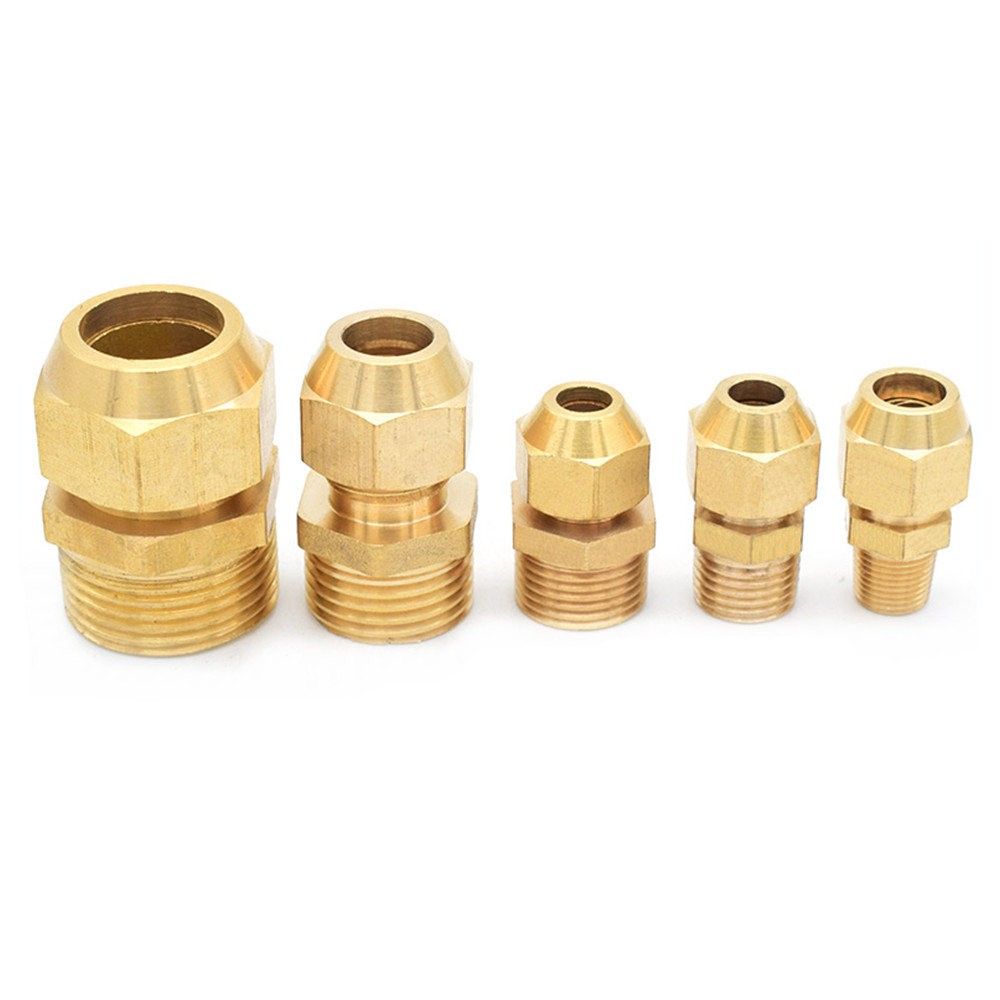 Copper Flared Pipe Fittings 1/8