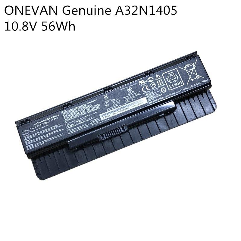 ONEVAN Genuine A32N1405 New Battery for ASUS ROG N551 N751 N751JK G551 G771 G771JK GL551 GL551JK GL551JM G551J G551JK G551JM title=