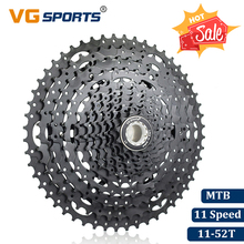 VG Sports Mountain Bike MTB 11 Speed Cassette Velocidade 11S 52T Bicycle Parts Black Cassete Freewheel Sprocket Cdg Cog 686g