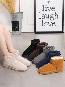 MBR FORCE австралийские женские зимние ботинки, 100% натуральная воловья кожа, ботильоны, теплые зимние ботинки, женская обувь, большой размер 34-44