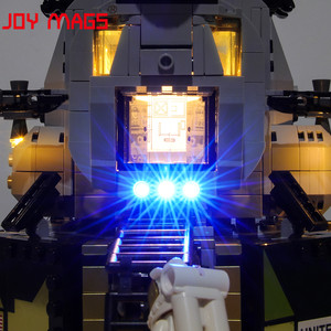 Image 2 - JOY MAGS Only Led Light Kit For Creator Apollo 11 Lunar Lander Lighting Set Compatible With 10266 (NOT Include Model)