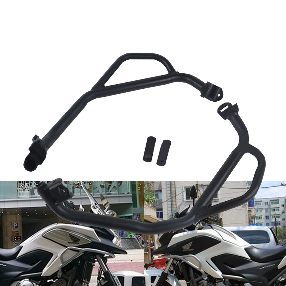 For <font><b>Honda</b></font> NC750X <font><b>NC700X</b></font> Highway Engine Guard <font><b>Crash</b></font> <font><b>Bar</b></font> Frame Protect Bumper NC 700 750 X 2017 2016 2015 2014 2013 2012 image