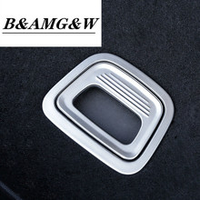 Car Styling Trunk Handle Sequins decoration cover Stickers trim for Mercedes Benz E class W213 200 300 Interior Auto Accessories