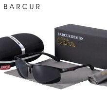 Barcurスポーツアルミサングラス男性偏男性サングラスブランド運転眼鏡