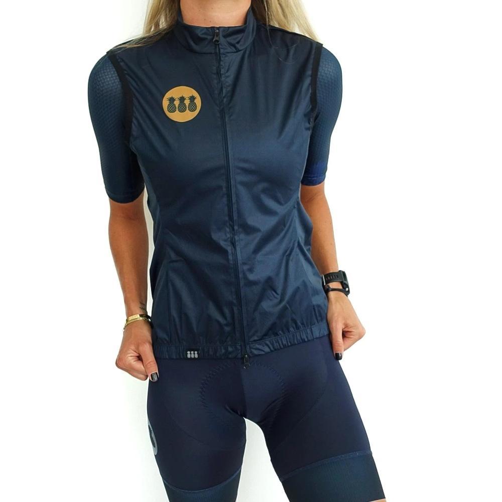2020 Trespinas  Women's Windproof Vest Outdoor Sports Vest Summer Breathable Cycling Vest Bike Windproof Vest