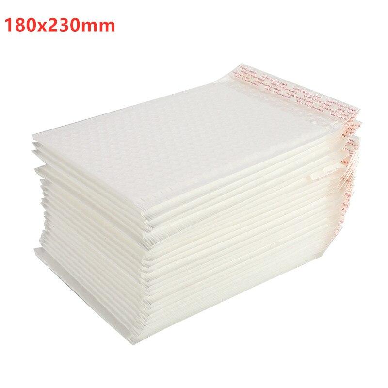 180x230mm Different Quantity Matte Bubble Film Envelope Bag Foam Express Delivery Packaging Mailing Envelope Bag 50/30/10/5 Pcs