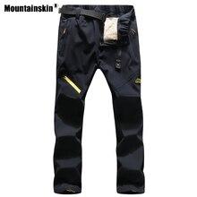 Hiking-Pants Trekking Thermal-Trousers Skiing Climbing Mountainskin Warm Outdoor Sports