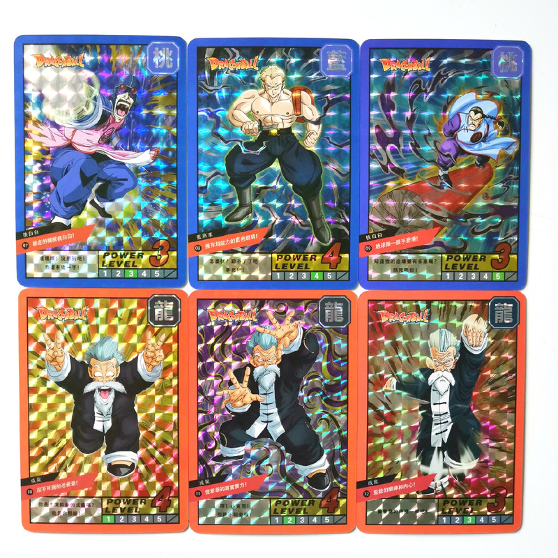 18pcs/set Super Dragon Ball Z Burst Bomb Burst Heroes Battle Card Ultra Instinct Goku Vegeta Game Collection Cards Free Shipping