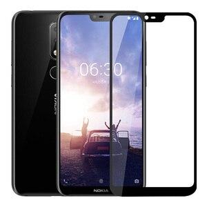 Image 2 - กระจกนิรภัยสำหรับ Nokia 6.1 8.1 7.1 5.1 2.1 3.1 Plus Nokia 2.2 3.2 4.2 หน้าจอป้องกันสำหรับ nokia 6.1 7.1 ฟิล์ม