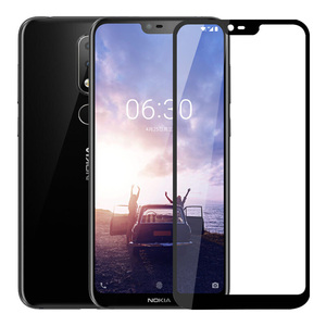 Image 2 - Tempered Glass For Nokia 6.1 8.1 7.1 5.1 2.1 3.1 Plus Nokia 2.2 3.2 4.2 Screen Protector Protective Glass For Nokia 6.1 7.1 Film