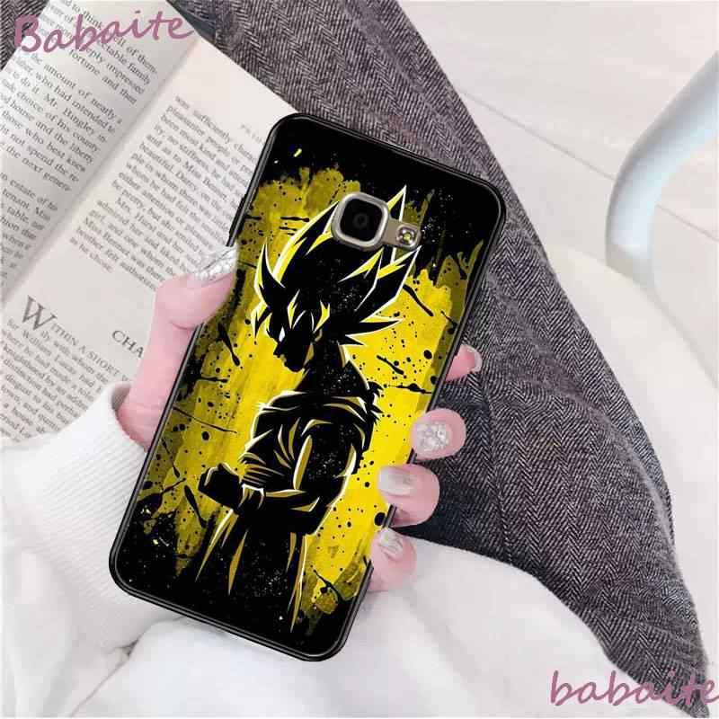 Babaite dragon topu Z süper DBZ Goku moda DIY lüks High-end telefon kılıfı için Samsung A8Plus 2018 9S 920 10S 20S 10 40 20 30 50