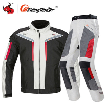 Riding Tribe Motorcycle Jacket Men Waterproof Windproof Moto Jacket Riding Racing Motorbike Clothing Protective Gear M-4XL Size motorcycle jacket men summer moto protective gear jacket men racing reflective oxford clothing motorbike jackets