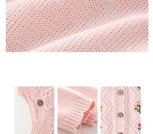 Image 4 - Orangemom moda tricô macacão + bonés para meninas roupas de natal do bebê unisex presente do ano novo bebê recém nascido menino macacão gêmeos