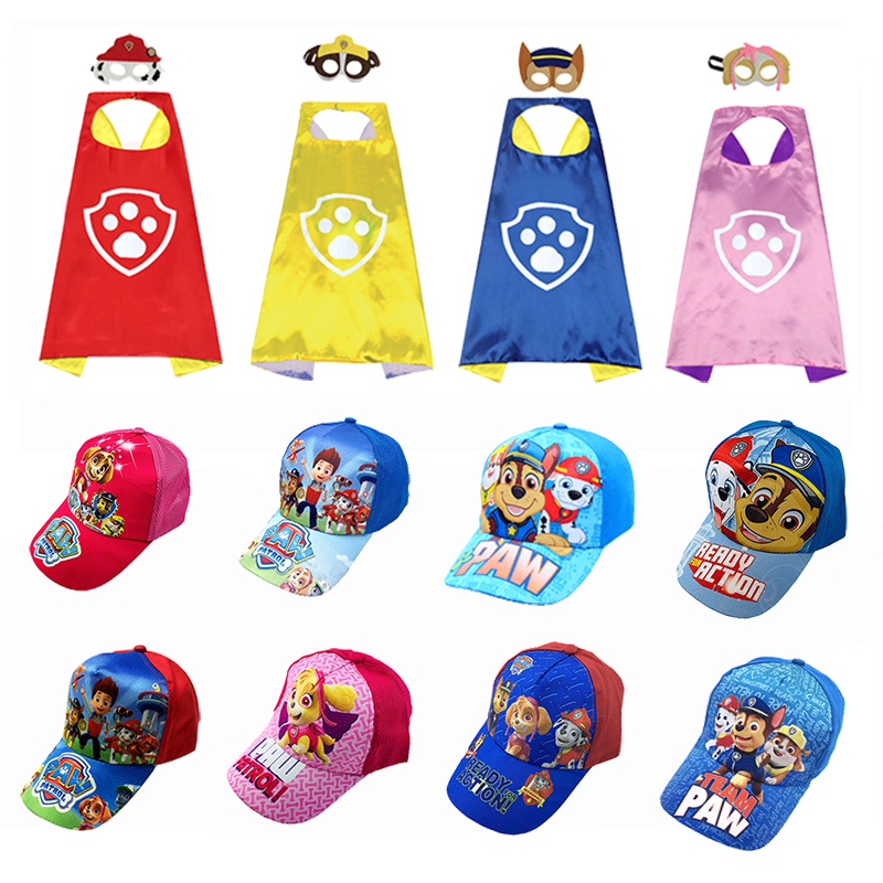 Special offer genuine Paw Patrol baseball cap comfortable cute cartoon boy girl child cotton new cape cape toy gift
