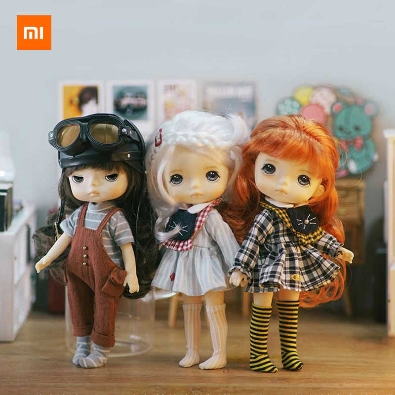 Xiaomi mijia monst selvagem bebê oferta boneca 20 cm de altura pequeno e requintado infantil e adorável presente da menina