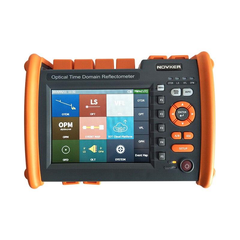 NOVKER NK5600 OTDR 30/32DB 1310/1550nm avec VFL OPM Source lumineuse fibre optique OTDR DHL livraison gratuite