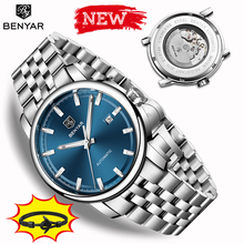 2019 New BENYAR men automatic mechanical watches men watches Top brand luxury mens watch military wristwatch Relogio Masculino