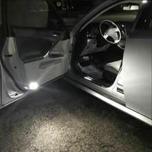 Bombilla LED Canbus para coche, marcador de lámpara, color rojo, blanco, 57smd, para estacionamiento, color azul y amarillo, T10 168 192 W5W 57 SMD 3014