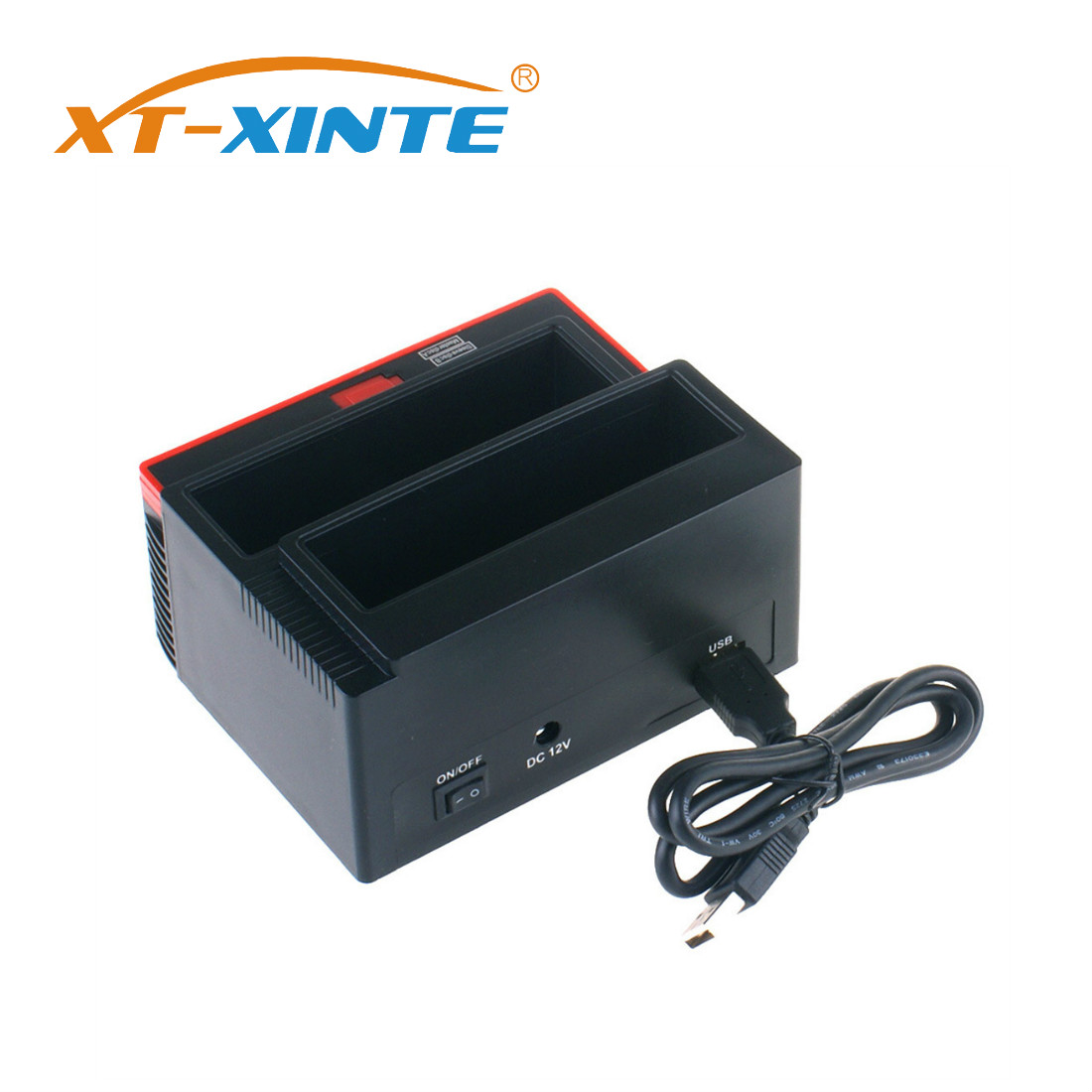 XT-XINTE SATA HDD Docking Station 2.5/3.5