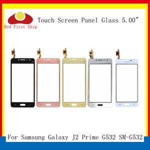 Image 1 - 10 adet/grup G532 dokunmatik ekran için Samsung Galaxy J2 başbakan G532 SM G532 dokunmatik ekran Digitizer paneli sensörü ön cam dış Lens