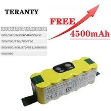 14.4V 3500mAh Bateria Ni-MH para iRobot Roomba 500 510 530 532 534 535 540 550 560 562 570 580 600 610 700 760 770 780 800 980 R3