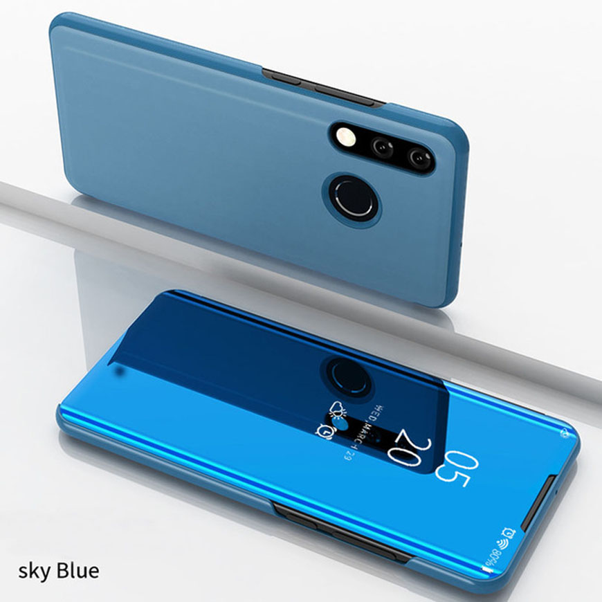 360 Smart Full Cover 2018 Mirror Phone Cases For Samsung Galaxy A01 A51 A71 S20 Ultra A50 A70 A80 A90 A40 A3 A5 A7 2017 A6 Plus