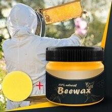 1 шт. полировка мебели из натурального дерева приправа пчелиный воск водонепроницаемый пчелиный воск полное решение уход за мебели пчелиный воск D11#40