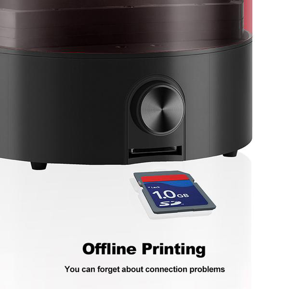 Multifunctional UV 3D Printer Resin WithLCD High Precision Photosensitive 3