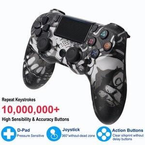 Image 5 - Mando inalámbrico Bluetooth para Sony PS4/PS3, mando con cable USB para Dualshock 4, Joypad para PlayStation 4