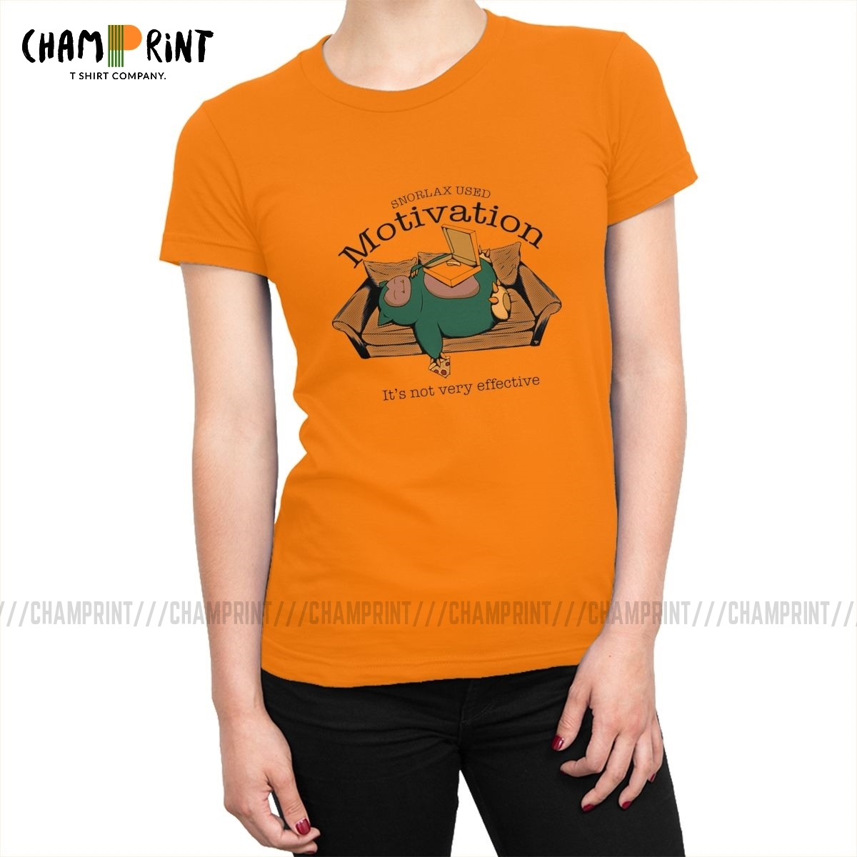 women-snorlax-used-motivation-t-shirt-font-b-pokemon-b-font-anime-tshirt-fashion-100-cotton-tops-tees-novelty-female-clothing-printed-graphic
