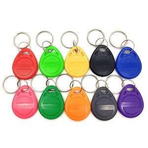 Image 2 - 100pcs EM4305 T5577 Copy Rewritable Writable Rewrite Duplicate RFID Tag Copy EM4100 125khz Card Proximity ID Token Keyfobs