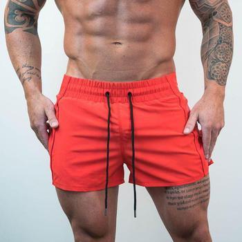 Short Pants men Summer Running Shorts Men Sports Jogging Fitness Quick Dry Mens Gym Sport gyms