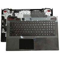 NEW Laptop Palmrest Upper Case With Backlight Keyboard Touchpad For Lenovo Y50 70 Y50 80 Y50 Y50P Y50P 70 AP14R000A00