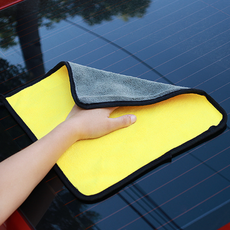 30*30CM Car Wash Microfiber Towel For Peugeot 206 <font><b>207</b></font> 307 3008 2008 308 408 508 301 208 Car Styling image